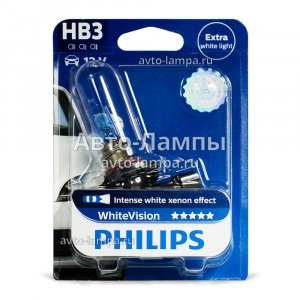 Philips HB3 WhiteVision (+60%)