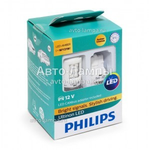 Philips WY21W Ultinon LED с обманками