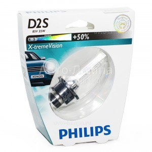 Philips D2S X-Treme Vision (+50%)