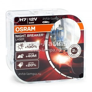 Osram H7 Night Breaker Laser (+130%)