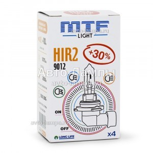 Галогеновая лампа MTF-Light HIR2 Standard +30% - HS12H2