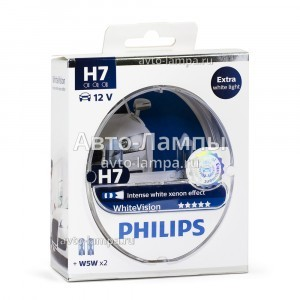 Philips H7 WhiteVision - 12972WHVSM (пласт. бокс)