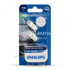 Philips W5W Vision LED