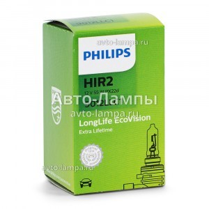 Галогеновая лампа Philips HIR2 LongLife EcoVision - 9012LLC1