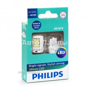 Philips W21W Ultinon LED - 11065ULWX2