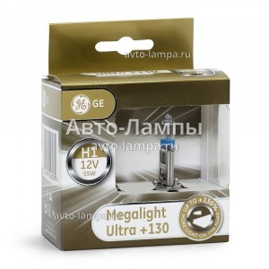 General Electric H1 Megalight Ultra +130% - 50310XNU-93039914 (карт. короб.)