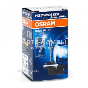 Галогеновая лампа Osram H27/881 Cool Blue Intense (+20%) - 881CBI