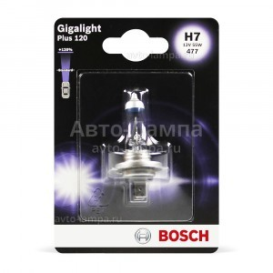 Bosch H7 Gigalight Plus 120 - 1 987 301 110 (блистер)