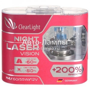 ClearLight H4 Night Laser Vision