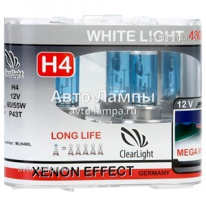 ClearLight H4 WhiteLight