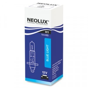 Галогеновая лампа Neolux H1 Blue Light - N448B (карт. упак. x1)