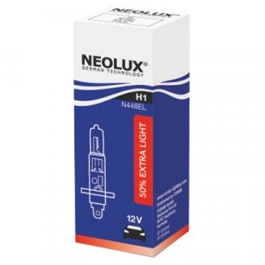Галогеновая лампа Neolux H1 Extra Light - N448EL (карт. упак. x1)