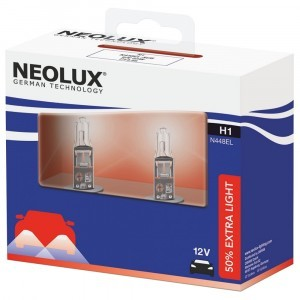 Neolux H1 Extra Light - N448EL-SCB (карт. упак. x2)
