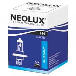 Neolux H4 Blue Light - N472B (карт. упак. x1)