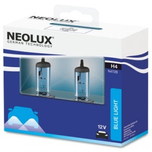 Neolux H4 Blue Light - N472B-SCB (карт. упак. x2)