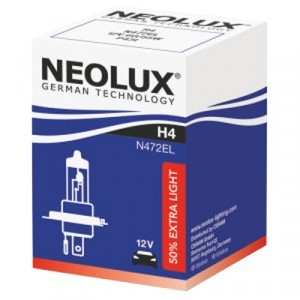 Neolux H4 Extra Light - N472EL (карт. упак. x1)