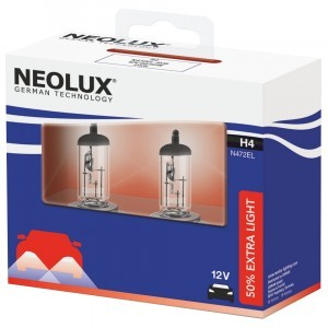 Neolux H4 Extra Light - N472EL-SCB (карт. упак. x2)