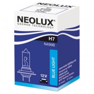 Галогеновая лампа Neolux H7 Blue Light - N499B (карт. упак. x1)