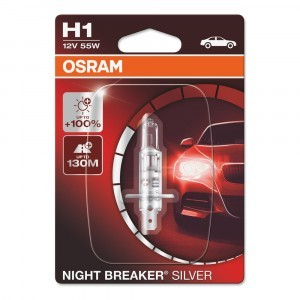Osram H1 Night Breaker Silver - 64150NBS-01B (блистер)