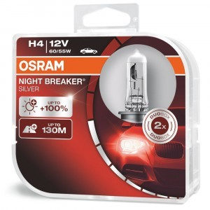 Osram H4 Night Breaker Silver - 64193NBS-HCB (пласт. бокс)