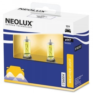 Комплект галогеновых ламп Neolux H7 Weather Light - N499W-2SCB