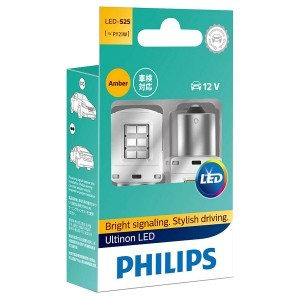 Philips PY21W Ultinon LED с обманками