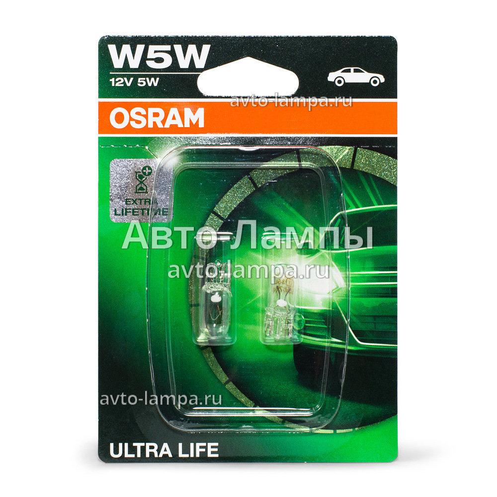 osram w5w ultra life 2825ult 10 2825ult 02b. Black Bedroom Furniture Sets. Home Design Ideas