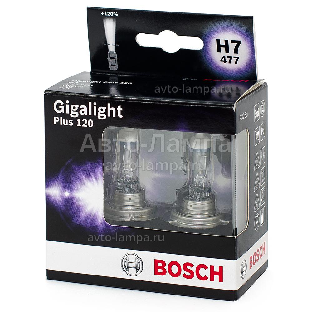bosch h7 gigalight plus 120 1987301107. Black Bedroom Furniture Sets. Home Design Ideas