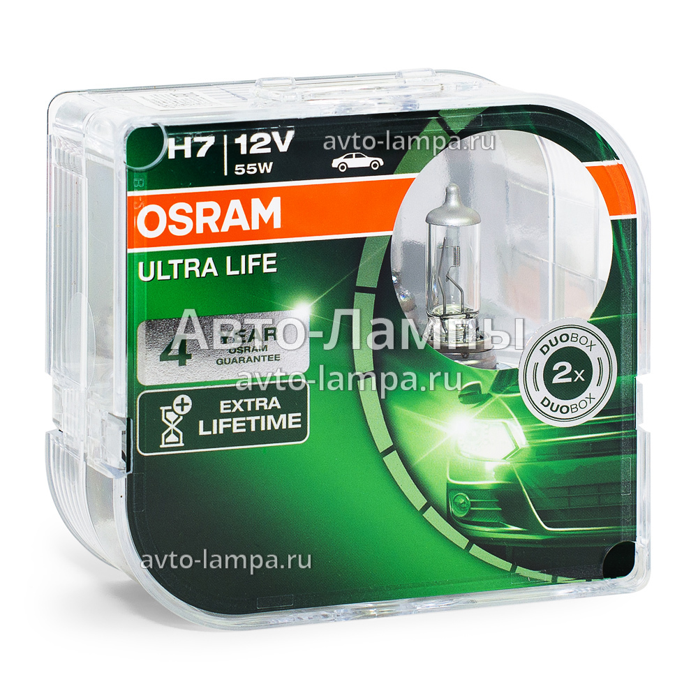 osram h7 ultra life 64210ult hcb 64210ult 64210ult 01b. Black Bedroom Furniture Sets. Home Design Ideas