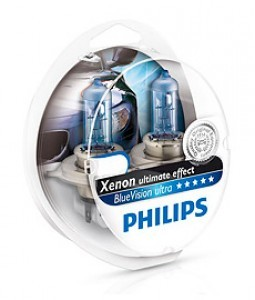 H11 Philips BlueVision Ultra