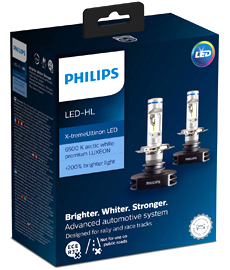 Светодиоды Philips X-treme Ultinon LED